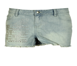 Pantaloni scurti Pieces Rolls Blue